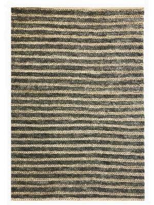 Handmade Wool & Jute Rug - 1430 - Cream/Natural - 110x160