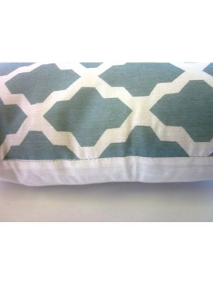 Moroccan Printed Cushion - 459 - Blue - 45x45